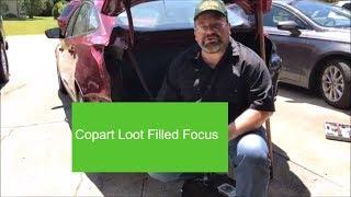Copart Loot-Filled Focus Rear Panel Prep