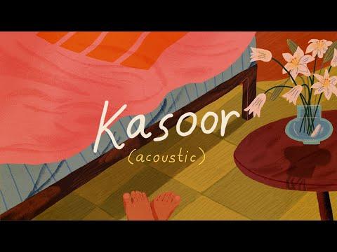 Kasoor (Acoustic) - Prateek Kuhad | Official Lyric Video 🌻✨
