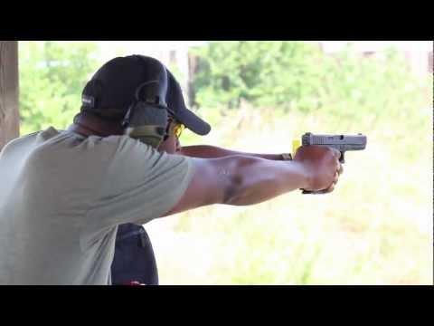 GLOCK 21 SHOOTING REVIEW: Big Gun, Big Round, Soft Spoken