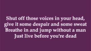 Get Up, Get Loud, Get Tough - Charly (Dance Moms) - Lyrics
