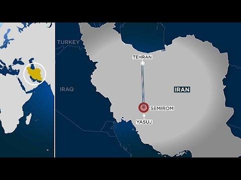 Dozens feared dead as Iranian passenger plane crashes