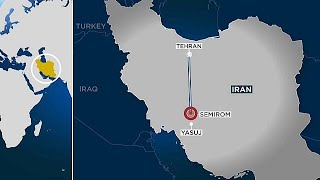 Dozens feared dead as Iranian passenger plane crashes