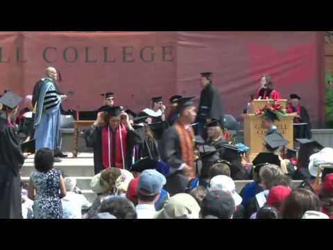 2016 Grinnell College Commencement: Conferring Bachelor Of Arts Degrees