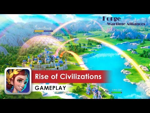 Rise of Civilizations Gameplay HD 1080p (iOS & Android)