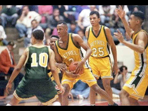 """RARE"" 1991 ALLEN IVERSON High School Game (Bethel vs Kecoughtan)"