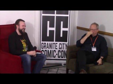 Robert Llewellyn: Scrapheap, Carpooling With Sir Patrick Stewart & Red Dwarf! - GCCC 2016