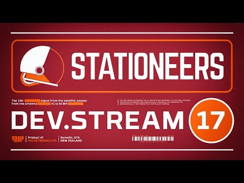 Stationeers Dev Stream 17 - Mothership Atmospherics & Developing Torpedoes