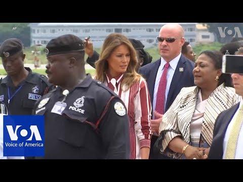 Melania Trump Begins Africa Tour