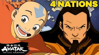 The History of the Four Nations! 🌎🔥🌊 ☁️ Avatar: The Last Airbender | NickRewind