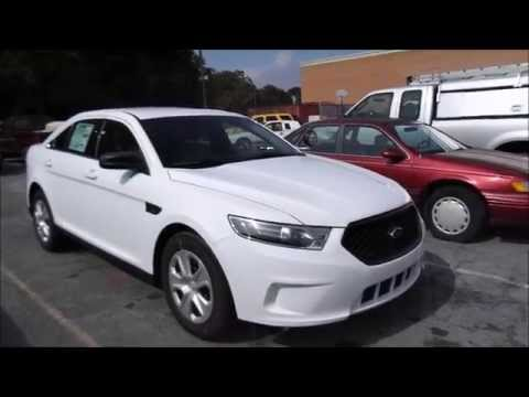 2017 Ford Taurus Police Interceptor 3 7l V6 Start Up Tour And Review You
