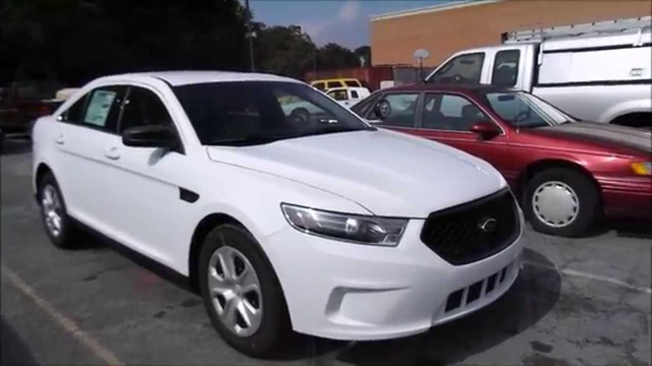 2015 Ford Taurus Police Interceptor 3.7L V6 Start Up, Tour, and Review - YouTube