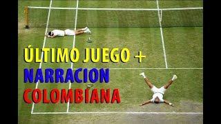 Cabal y Farah Ganan Wimbledon (Ultimo juego) + narracion colombiana (min 1:47)
