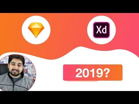 סקאטץ מול אדובי אקס די Sketch vs XD 2019