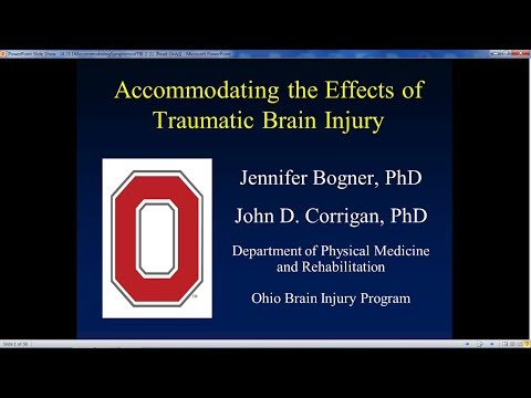 Accommodating the Symptoms of TBI