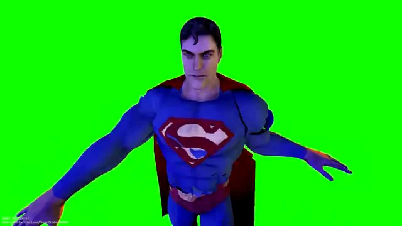 superman having a bad hair day machine 3d animation and as i am in