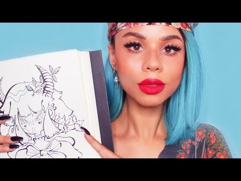 SKETCHBOOK TOUR 2018 | First Time Drawing in 4 Years