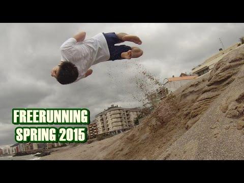 Beach Freerunning Spring 2015