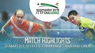 Thomas Keinath vs Kim Munsu | 2019 ITTF Challenge Thailand Open (Group)