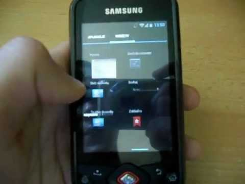Samsung Galaxy Spica i5700 with Android 4 ICS CM 9 - Hands on