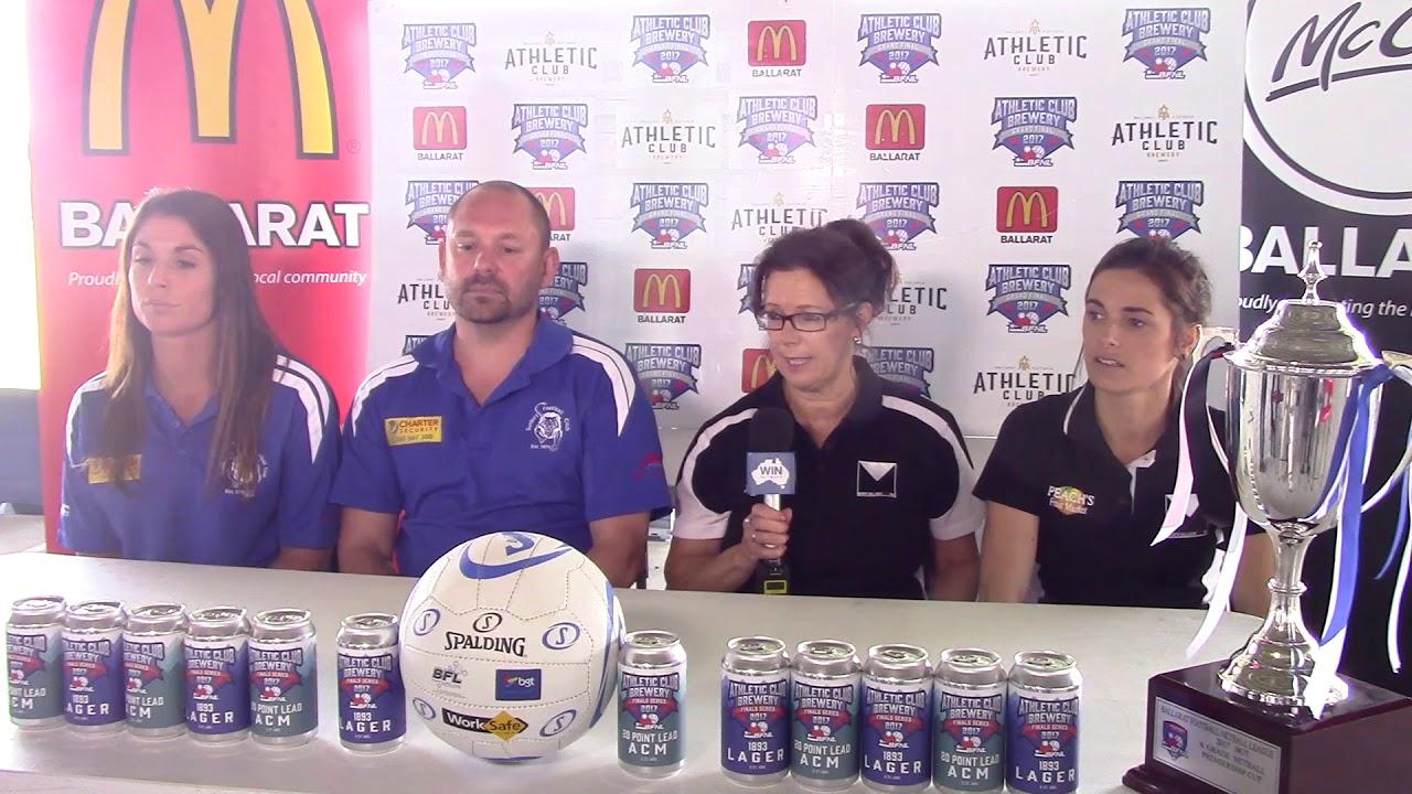 Ballarat FNL  Netball Grand Final Media Conference
