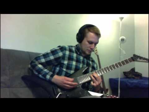 Revocation - Cretin guitar solo cover.