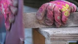 Зимний дом для кошек Женскими руками