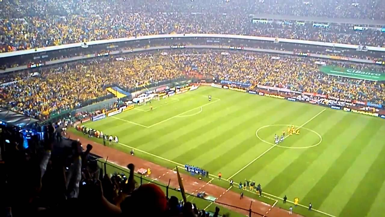 America Vs Cruz Azul >> Penaltis América Cruz Azul Final Liga MX 2013 Estadio Azteca - YouTube