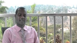Freddy Mutanguha: Speaking about the Kigali Memorial Center (2010)