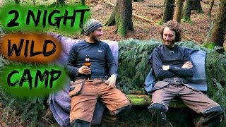 Bushcraft And Booze | 2 Nights In The Woods
