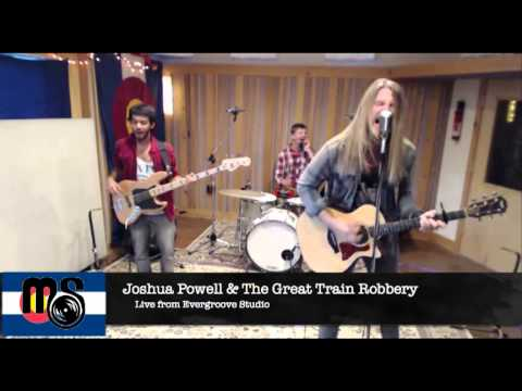 Joshua Powell and the Great Train Robbery LIVE on Mountain Size Presents 06/28/13