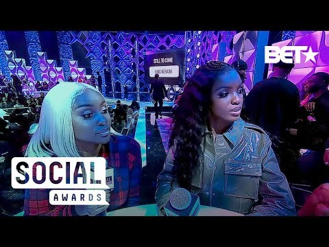 King Keraun And BET's IT Girl Squad Take Over The 360 Cam! | BET Social Awards