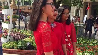Đường hoa Nguyễn Huệ Tết 2018 | Tết Mậu Tuất ở đường hoa