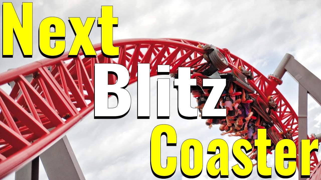 Next Intamin Blitz Coaster For Amusement Parks |  Intamin Launch Roller Coaster