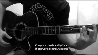 Bad Idea Chords by AlunaGeorge - How To Play - chordsworld.com