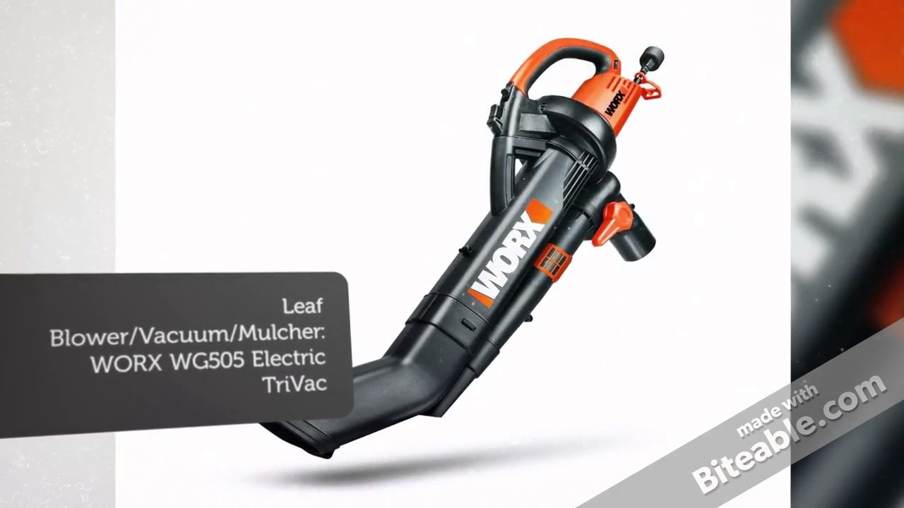Best Leaf Vacuum Mulcher Of 2018 Best Leaf Blower Youtube