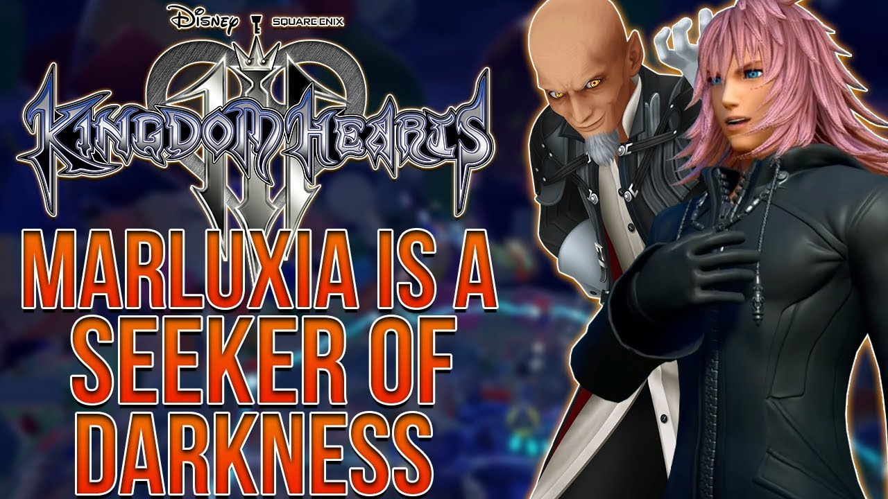 Kingdom Hearts 3 Marluxia Is Apart Of Xehanorts Organization Xiii