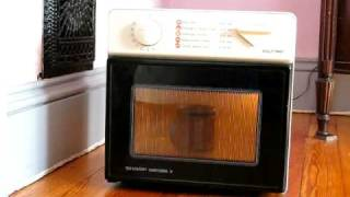 Sharp Half Pint Microwave Demonstration (For Sale on Ebay)