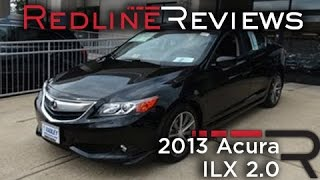 2013 Acura ILX 2.0 Tech Walkaround, Review, and Test Drive