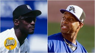 Baseball lover Tracy McGrady explains what Michael Jordan's trip to the minors meant | The Jump