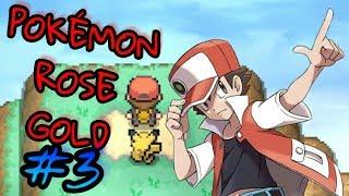 Pokémon Rose Gold Ep3 | CONTINUA la AVENTURA de... ROJO