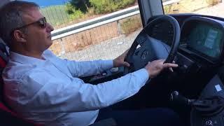 2016 yeni Travego ile otobüs yolculuğu Kamil Koç