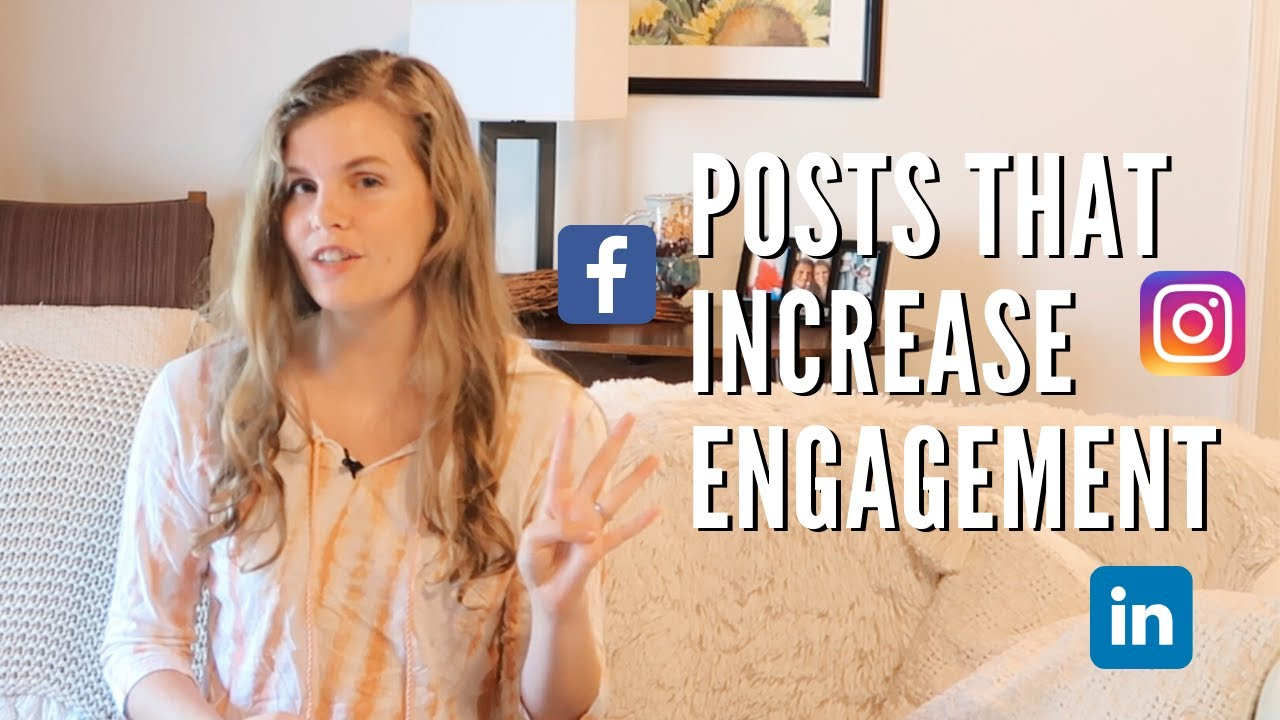 4 Types of Social Media Posts for Better Engagement (2020 Strategy)