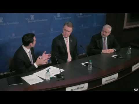 Senator David Perdue Talks Tax on Heritage Foundation Panel