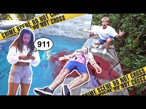 INSANE DEAD BODY PRANK ON TEAM 10 (FREAKOUTS)