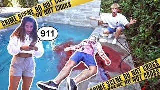 Video INSANE DEAD BODY PRANK ON TEAM 10 (FREAKOUTS) download MP3, 3GP, MP4, WEBM, AVI, FLV November 2017