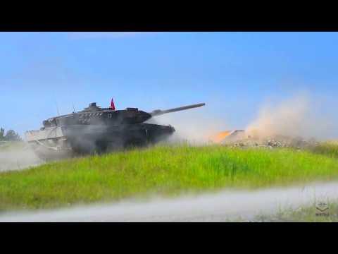 Европейский танковый биатлон [Strong Europe Tank Challenge: Challenger 2, Leopard 2A4, 2A5]