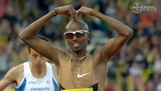 Mo Farah wins 2 Miles in Birmingham - Universal Sports