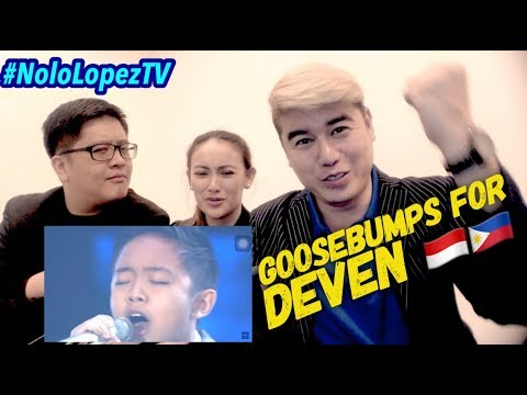 GOOSEBUMPS!!! Deven Sings Never Enough | Indonesian Idol Junior 2018 Grand Finals | Nolo Lopez TV
