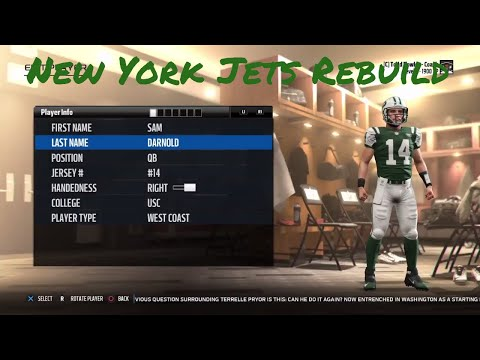 Rebuilding The New York Jets! Super Bowl? - Madden 18