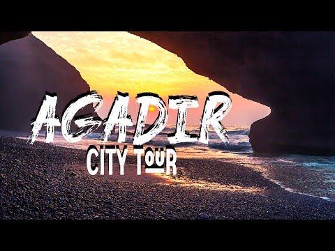 Agadir City Tour l Morocco Video Walk【4K Travel】🇲🇦 ✈️